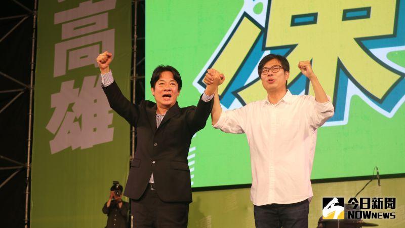 ▲副總統賴清德認為,韓國瑜在選前之夜出來就是要壓低陳其邁的選票。(圖/記者鄭婷襄攝,2020.08.14)