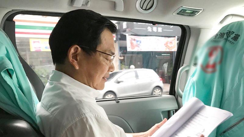 吳益政投票「競選52天像連續劇的夢」