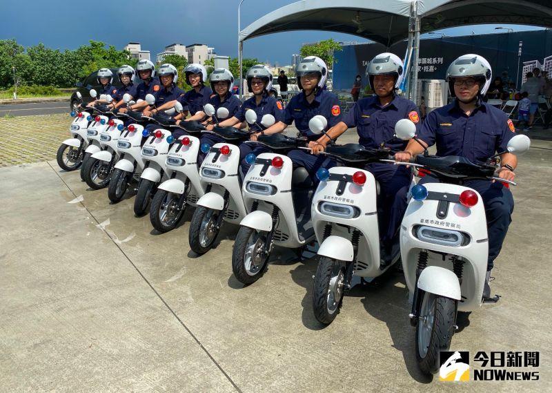 泰嘉開發、北基實業捐贈10部電動機車予台南市警察局