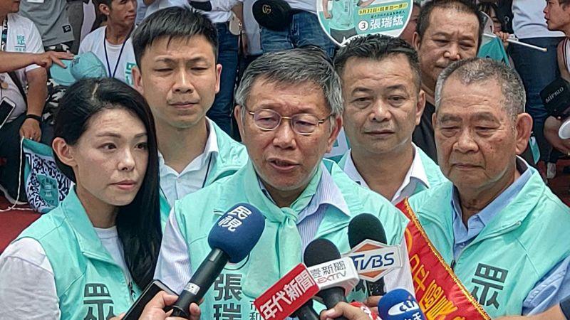 身兼台灣民眾黨主席的台北市長柯文哲,16日受訪時,針對外界批評他在吳益政落選後並未出面陪同一事,表示民進黨操控媒體帶風向。