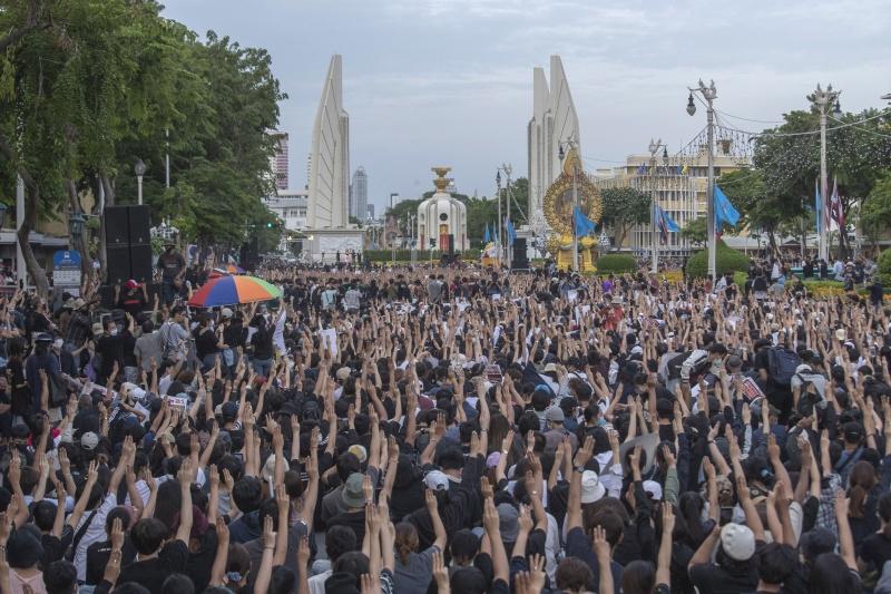 ▲泰國爆發自