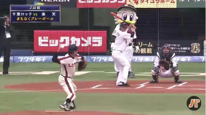 日職/村田兆治「巨斧投法」開球 70歲的快速球令人期待