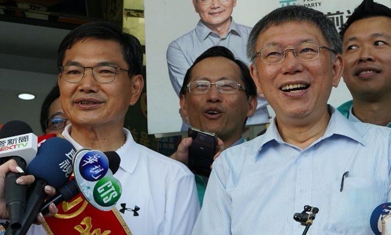 身兼台灣民眾黨主席的台北市長柯文哲,在高雄市長補選結束後,並未陪同民眾黨候選人吳益政,一同面對敗選結果。