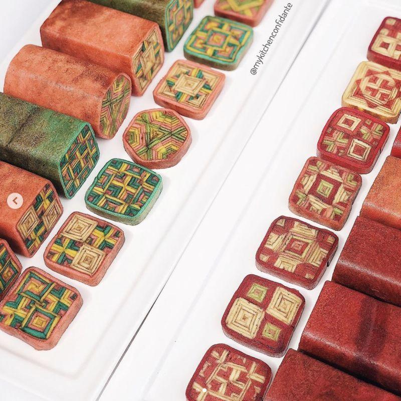 ▲被譽為「世界最複雜蛋糕」的千層糕是馬來西亞砂拉越州(Sarawak)著名的糕點。(圖/kitchen_confidante@IG)