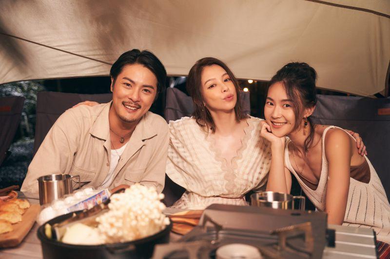▲徐若瑄新歌MV找來元康、鍾瑶出演。(圖/索尼音樂提供)