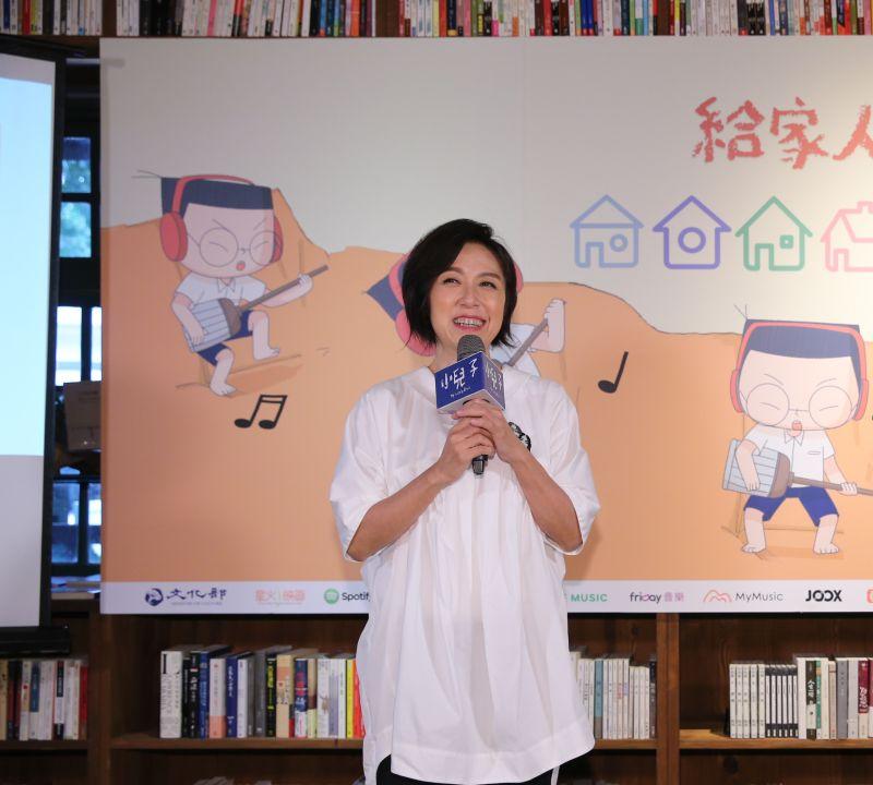 ▲黃韻玲擔任北流董事長,認為公司同事很辛苦。(圖/夢田文創提供)
