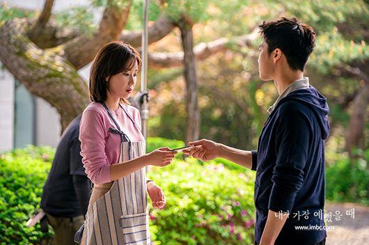 ▲▼林秀香(左)拍攝《當我最漂亮的時候》時不慎受傷。(圖/MBC官網)