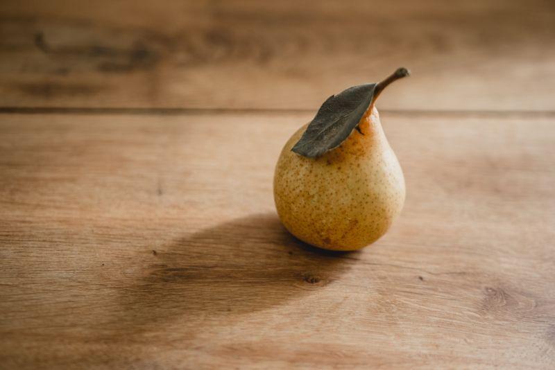 ▲梨子也是鬼月禁忌食物之一。(示意圖/翻攝自Unsplash)
