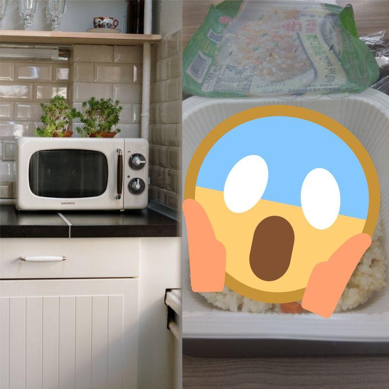 ▲超商內有販售許多微波食品,可以讓人方便購買,迅速飽餐一頓,但就有網友分享一打開卻直接「苦笑」(示意圖/翻攝自《pixabay 》,《PTT》)