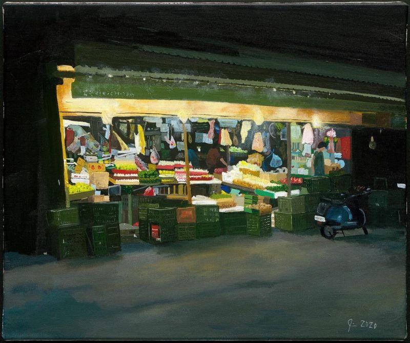 ▲木柵傳統市場(圖|James Hugh Gough提供)