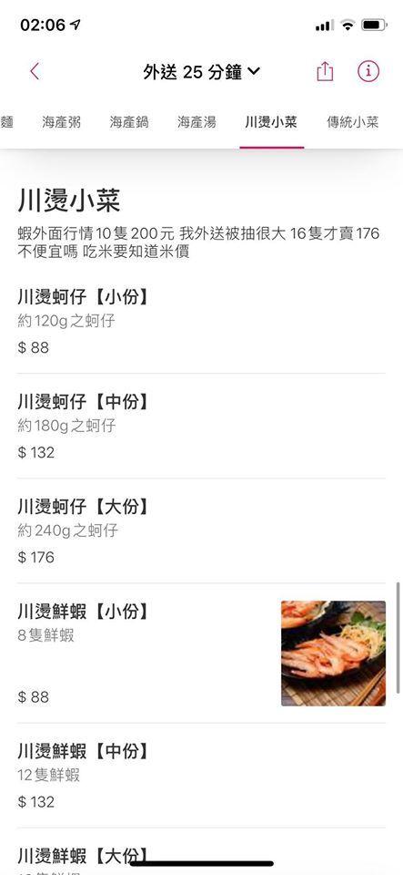 ▲吃米要米價,吃蝦也要知蝦價。(圖/翻攝自臉書)