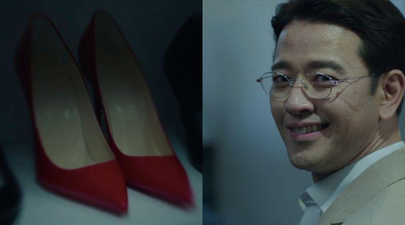 ▲劇中,裴秀彬(右)雖然被發現是幕後指使者,但凶手另有其人。(圖/愛奇藝台灣站)