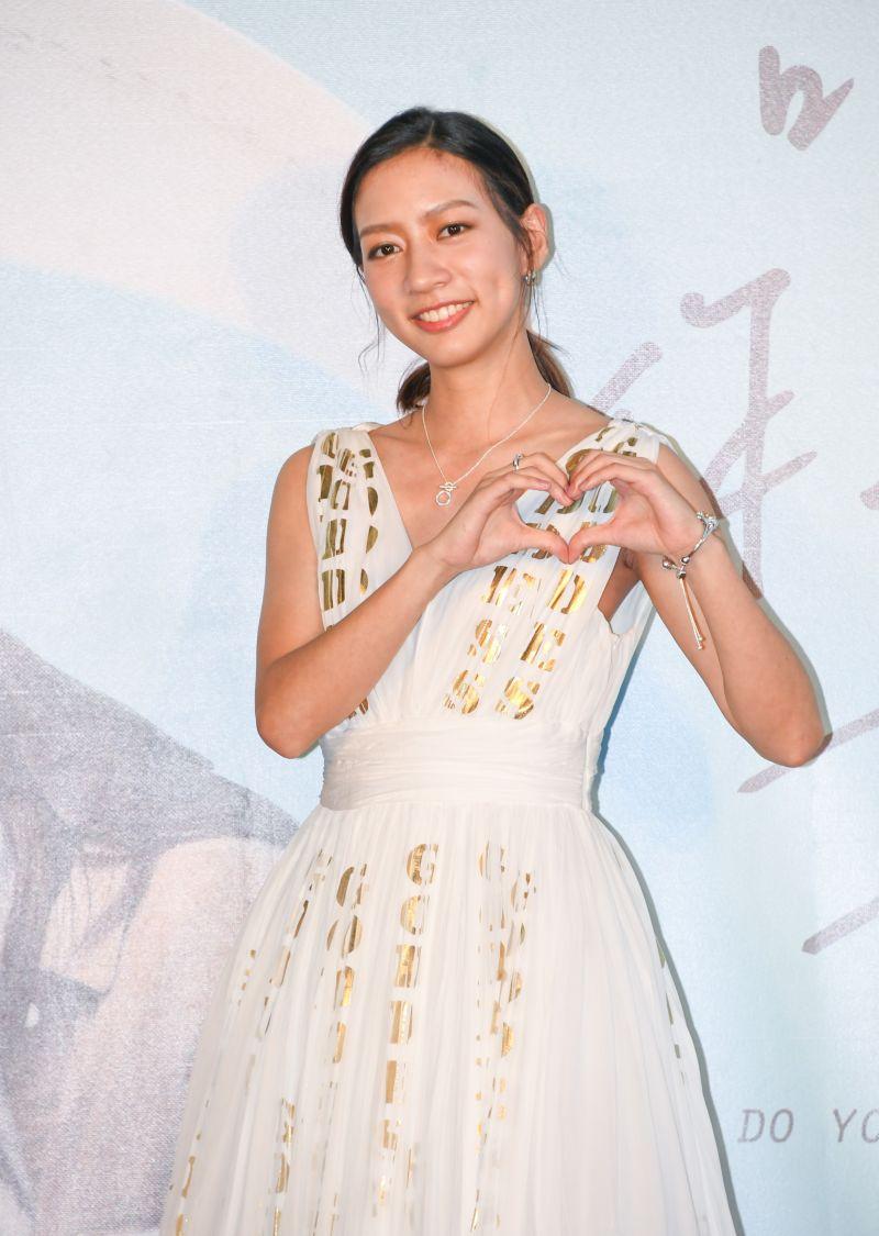 ▲陳妤在片中飾演一個活潑開朗的大學生。(圖/華映娛樂)