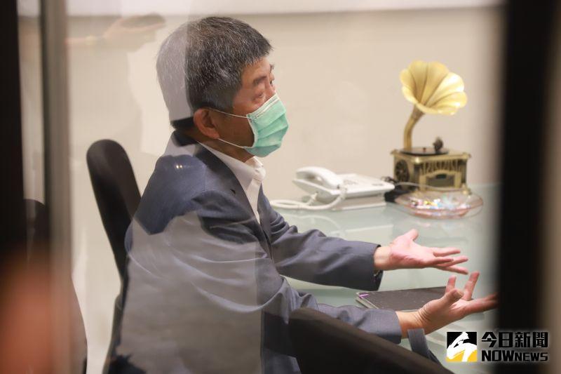 ▲中央流行疫情指揮中心指揮官陳時中,反對全面入境普篩。(圖/記者葉政勳攝 , 2020.08.20)