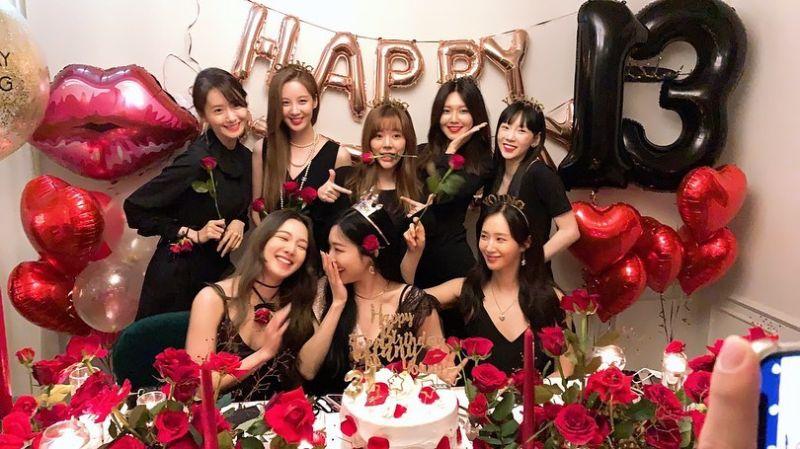 ▲少女時代本月5日相聚慶祝出道13年。(圖/秀英IG)