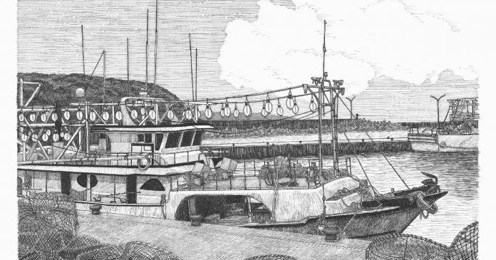 ▲野柳漁港。(圖/蔡敏智提供)