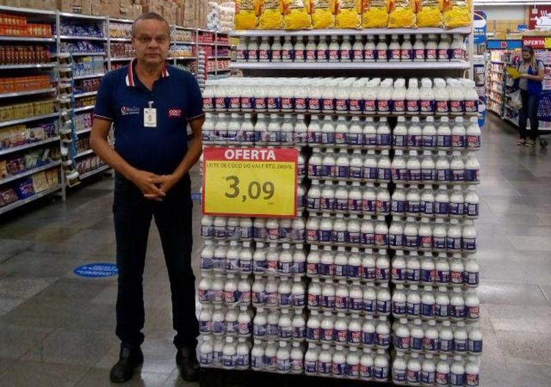 ▲因心臟病發不幸過世的店員卡瓦坎特。(圖/翻攝自《Globo》)