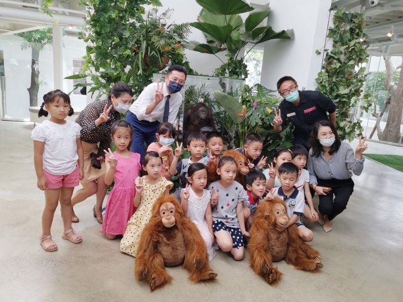 紅毛猩猩貝比製成標本 回歸<b>新竹動物園</b>