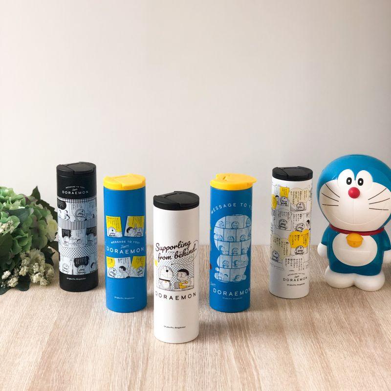 ▲全家推出五款「304不銹鋼保溫瓶」,真空雙層設計,可保冷保溫,底部還具防滑設計。(圖/業者提供)