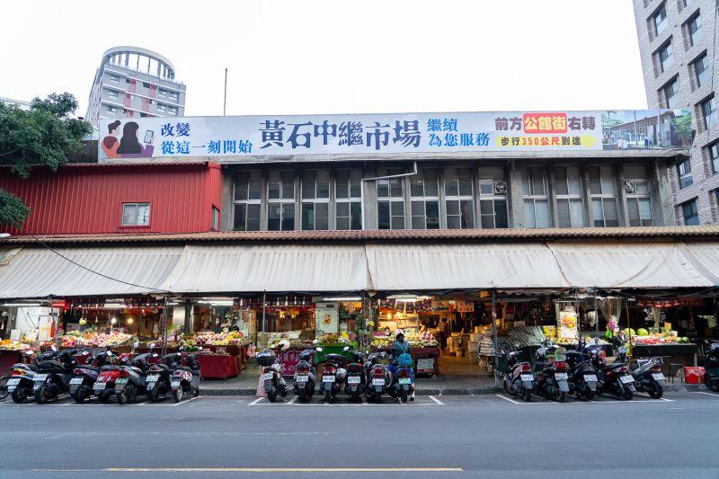 ▲板橋黃石市場日前正式動工改建,有望翻新當地市容。(圖/新北市官網)