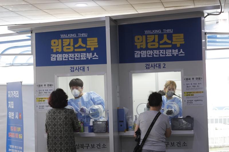 南韓確診減勢停滯 安心醫院爆群聚感染