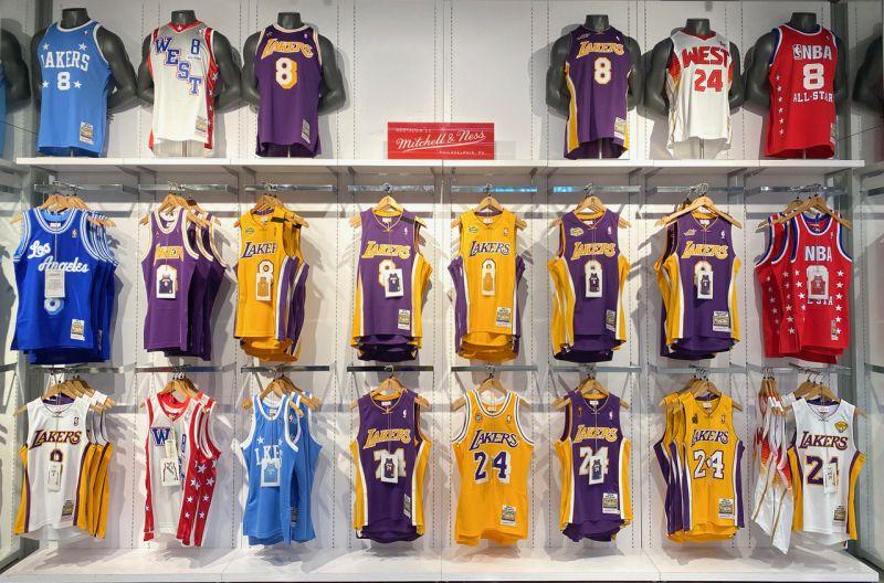 NBA/致敬永遠的Kobe!經典22款戰袍復刻推出