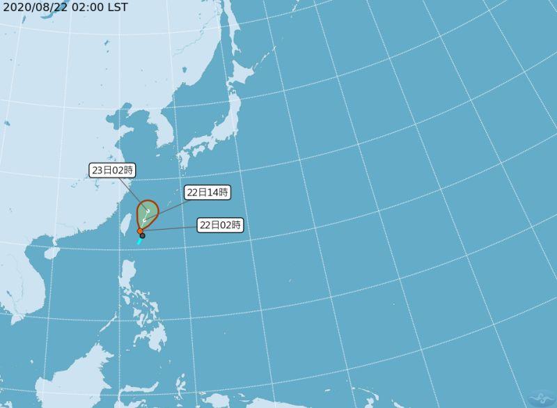 巴威颱風將生成 氣象局:兩地區發布大雨特報