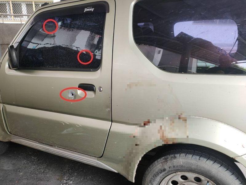 通緝犯竊車拒捕衝撞警車 警「開槍擊中頭部」就逮