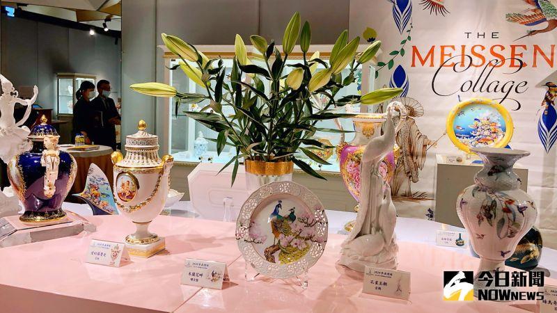 ▲瓷器不僅是餐具,在藝術大師的巧手下,也成為妝點居家的藝術擺飾品。(圖/記者陳美嘉攝,2020.08.21)