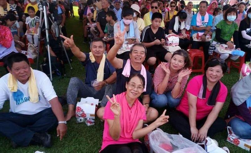 ▲場面熱烈,參加民眾過了美好的一天。(圖/記者蘇榮泉攝,2020.08.22)