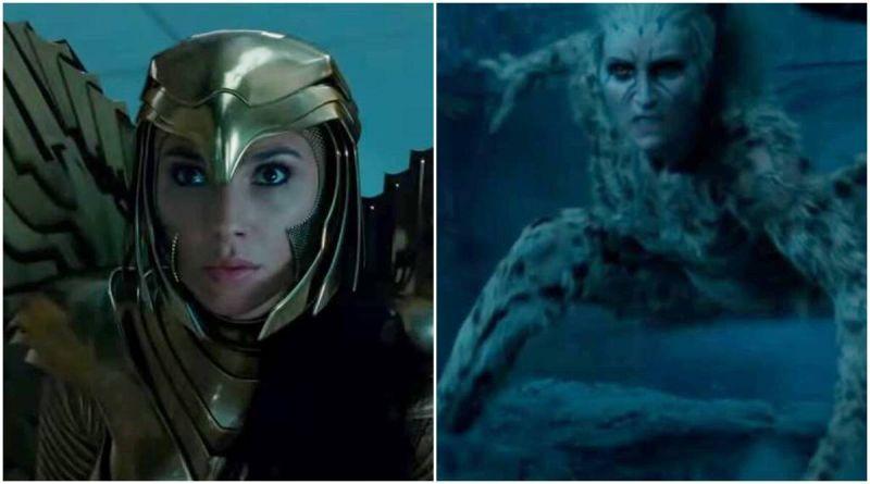 ▲《神力女超人》大戰「豹女」(右),精彩動作場面連連。(影片截圖)