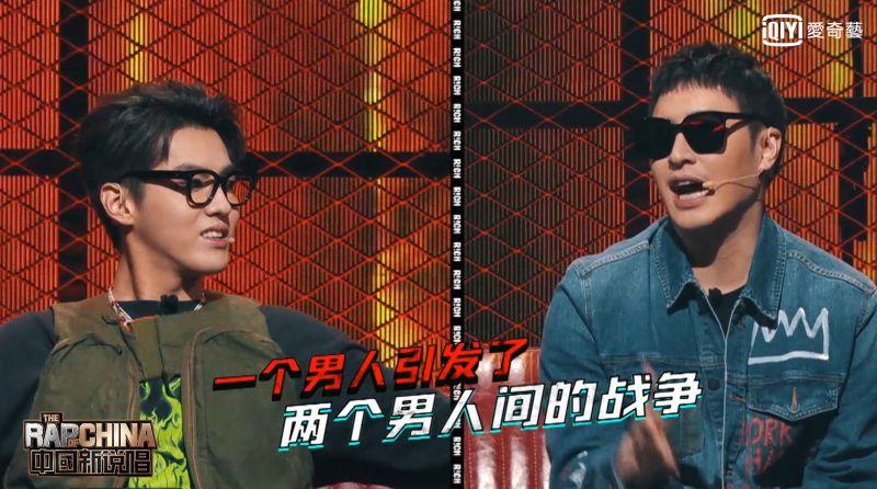 ▲潘瑋柏(右圖)、吳亦凡為搶選手兄弟情決裂。(圖/愛奇藝台灣站)