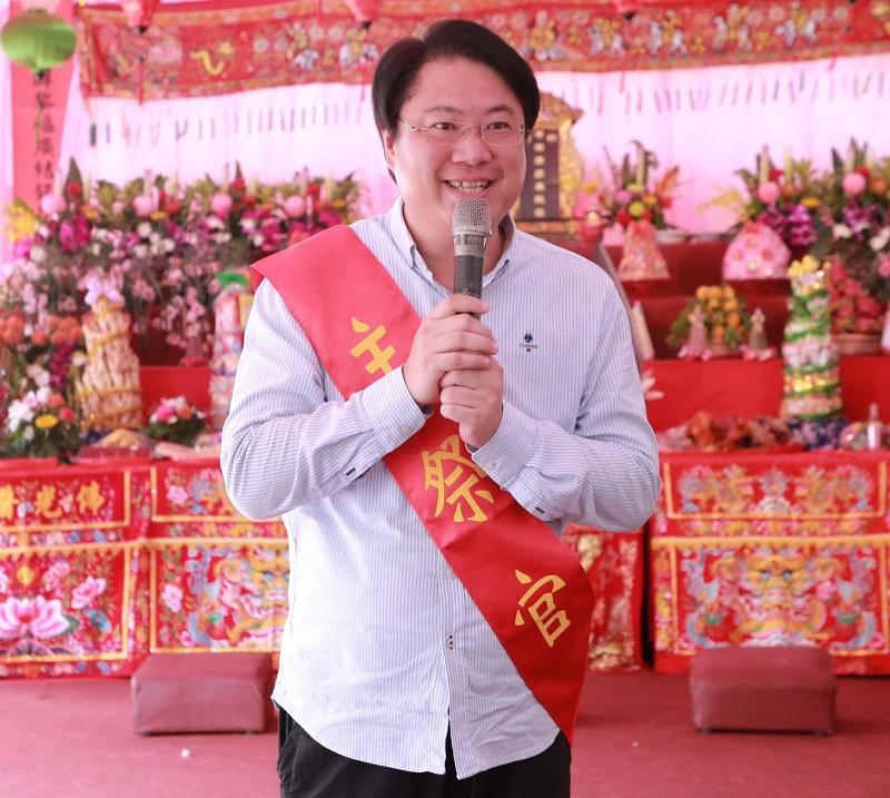 林右昌出席<b>義民節</b>祭典 期許客家文化傳承不輟