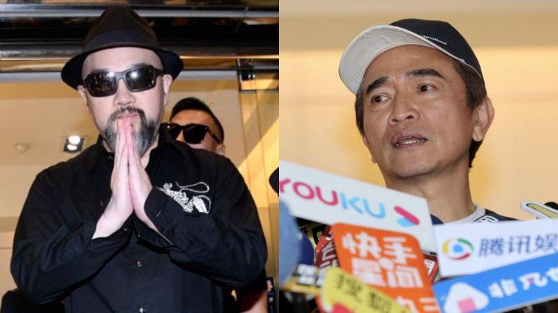 ▲辛龍(左圖)喪妻5個月走不出,老闆吳宗憲說重話。(圖/記者林柏年攝)