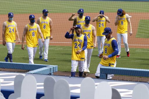 MLB/5大數據感謝Kobe!道奇大勝<b>洛磯</b> 敬永遠的小飛俠