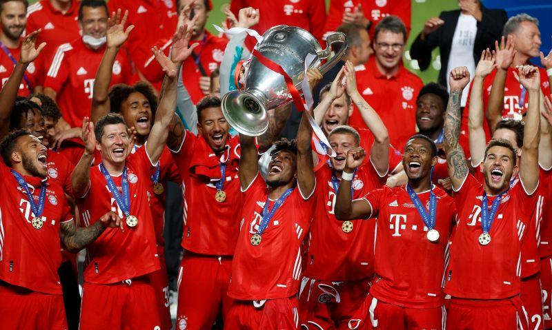 足球/拜仁破紀錄11場不敗奪歐冠 隊史第2次成就三冠王
