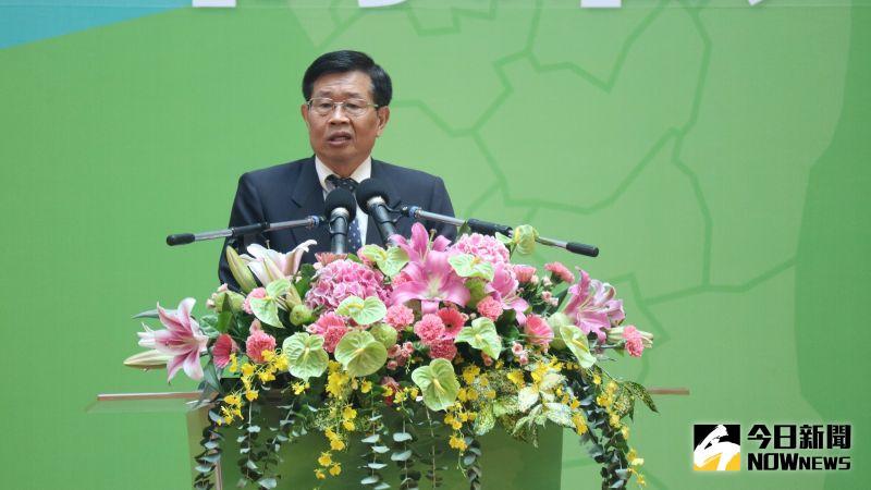 ▲代理市長楊明州表示,日久「他鄉就是故鄉」,他在高雄36年,高雄就是他的故鄉。(圖/記者鄭婷襄攝,2020.08.24)