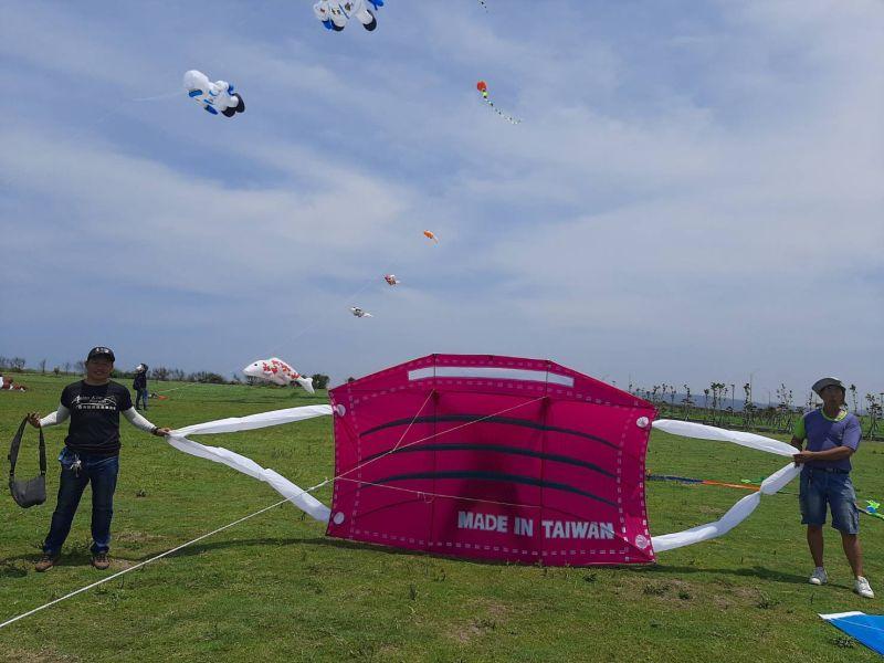 新竹市國際風箏節周末登場 口罩與<b>防疫英雄</b>風箏大開眼界