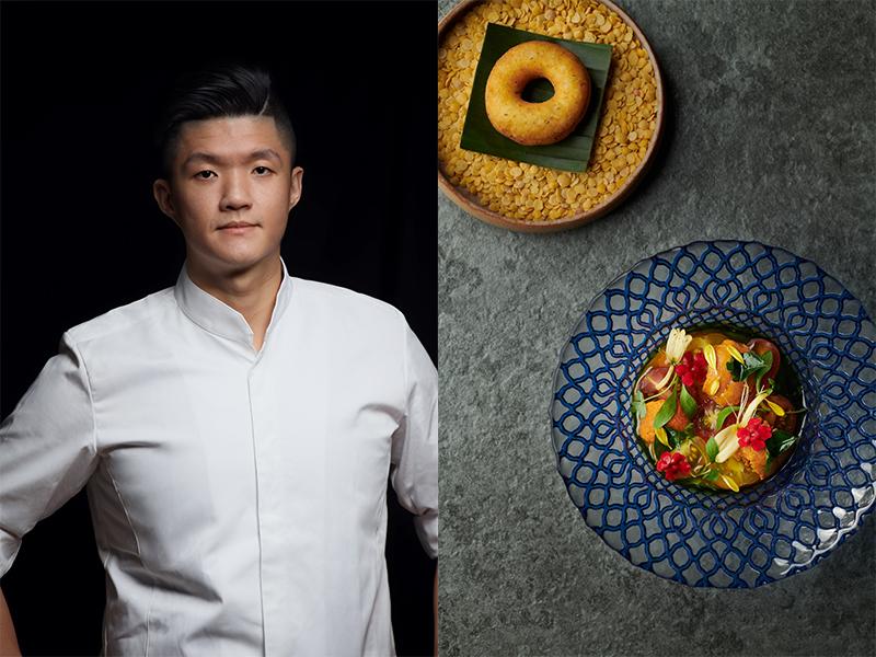 現代新加坡料理JL Studio 初戰米其林勇奪二星