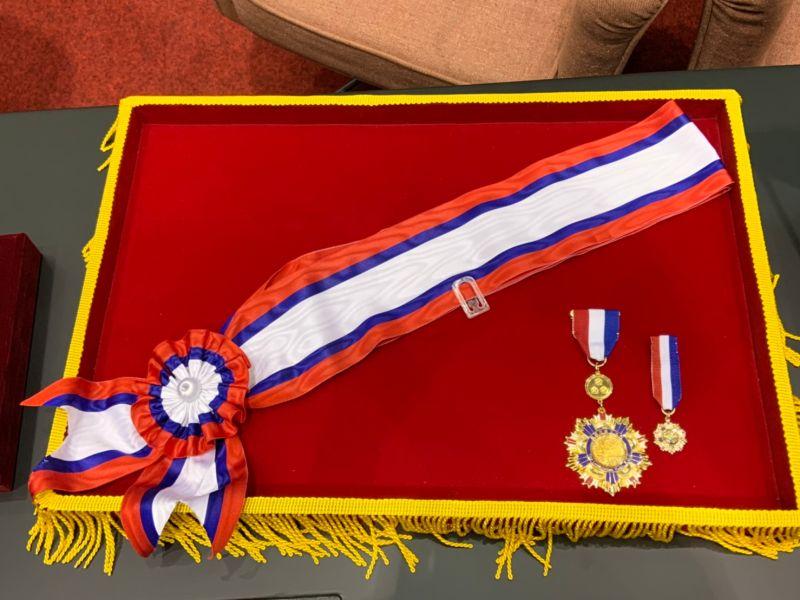 ▲捷克參議院議長韋德齊訪台,將接受立法院頒贈國會外交獎章。 (圖/記者吳承翰攝)