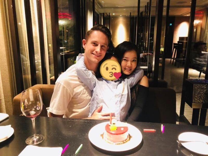▲男星馬丁(左)七夕突宣布離婚,兒子仍不知情。(圖/馬丁臉書)