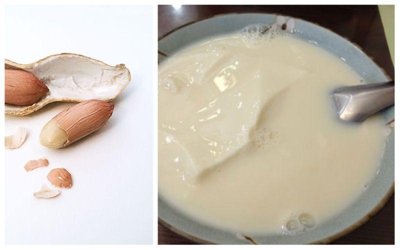 ▲大批網友都認為豆花只要加上花生,會變超級好吃。