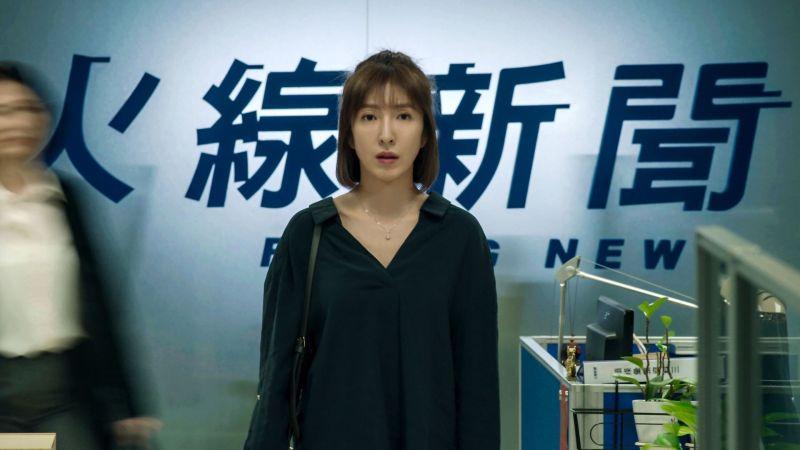 ▲楊謹華靠《鏡子森林》入圍金鐘最佳女主角。(圖