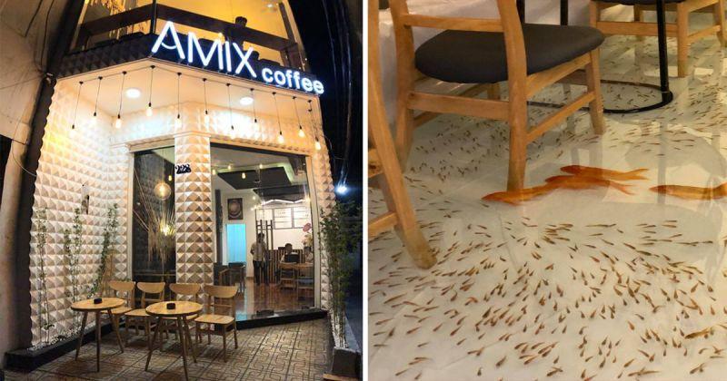 最獵奇<b>寵物</b>咖啡廳在越南!網友傻眼:要怎麼走路?