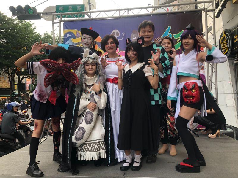 逢甲「百鬼夜行踩街」嘉年華   傳統鬼節變身西洋萬聖節