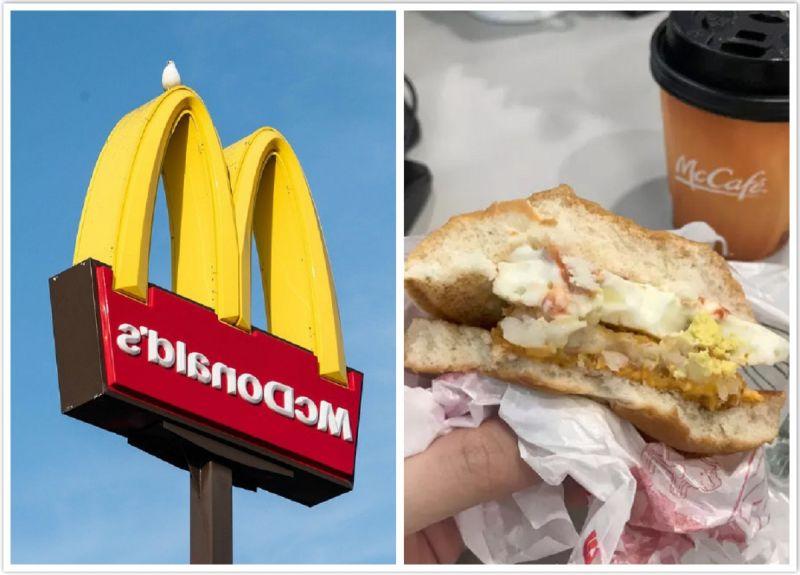她讚麥當勞「薯餅夾吉士蛋堡」神美味!老饕加碼獨門吃法