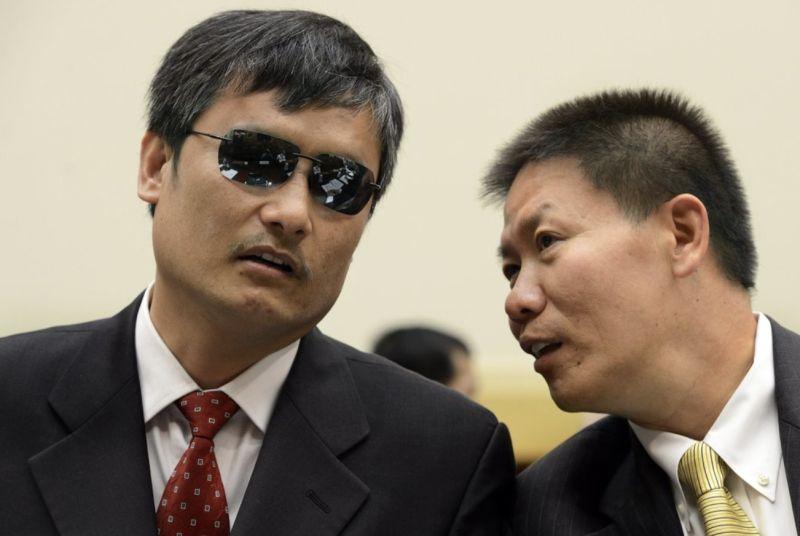 中國盲人律師陳光誠