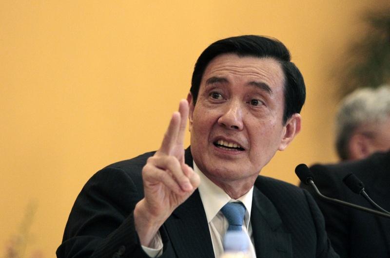 ▲前總統馬英九。資料照。(圖/美聯社/達志影像)