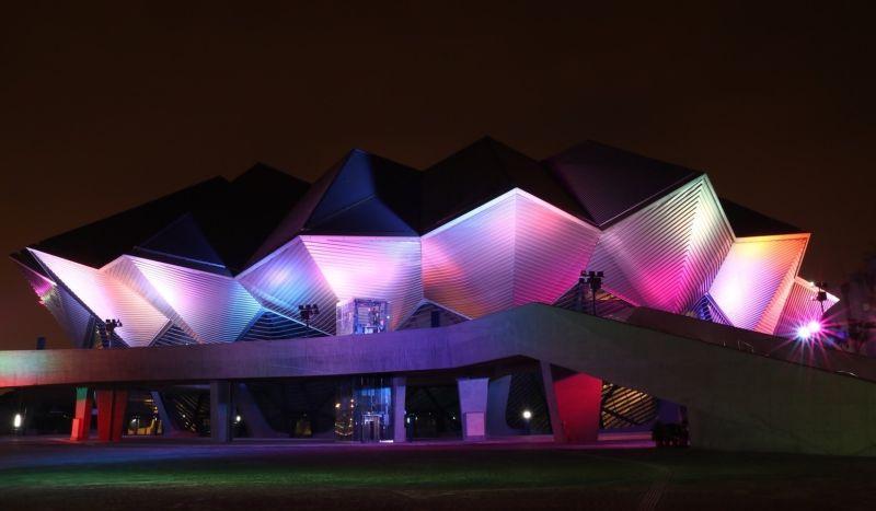 ▲北部流行音樂中心是台灣首座可容納6千人的流行音樂專屬表演場館,也是作為台灣流行音樂歌手及表演團體站上台北小巨蛋前的舞台。(圖/文化部提供)