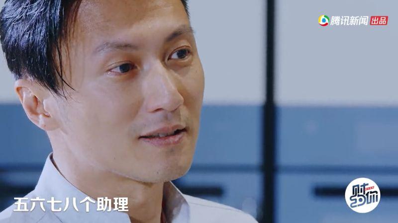 ▲謝霆鋒遇到新人上節目擺架子。(圖/騰訊視頻)